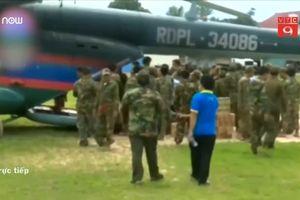 Nhóm giải cứu đội bóng nhí Thái Lan sang hỗ trợ Lào