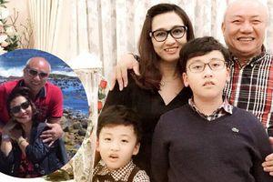 Ảnh đời thường hạnh phúc bên chồng và hai con trai của BTV Vân Anh