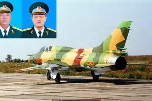 Máy bay Su-22 rơi ở Nghệ An: Truy thăng quân hàm cho 2 phi công hy sinh