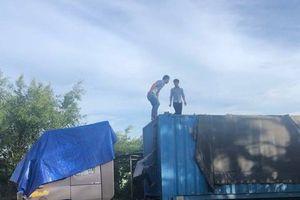 Vụ xe container chở 40m³ gỗ lậu: Bắt tạm giam một phó giám đốc