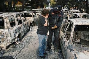Có bàn tay phá hoại trong thảm họa cháy rừng ở Hy Lạp