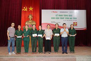Tập đoàn Tân Hiệp Phát tri ân các cựu thanh niên xung phong tại Nghệ An, Hà Tĩnh