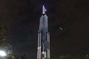 Giới trẻ chia sẻ ầm ầm hình ảnh tòa tháp Landmark 81 ấn tượng và lung linh với ánh đèn siêu đẹp ban đêm