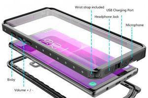 Tiếp tục rò rỉ ảnh ốp lưng Galaxy Note 9: có nút Bixby và jack 3,5mm