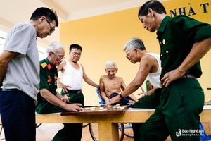 Hạnh phúc bình dị của những cựu binh ở Trung tâm điều dưỡng