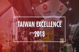 Taiwan Excellence 2018 trình làng hàng loạt công nghệ tân tiến