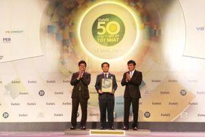 Hòa Bình lọt top 50 Công ty niêm yết tốt nhất Việt Nam 2018