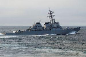 Tập trận đa quốc gia chống vũ khí hủy diệt hàng loạt trên biển
