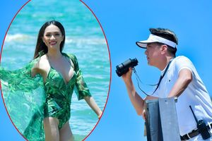 Diện bikini, Hương Giang Idol khiến Đàm Vĩnh Hưng không rời mắt