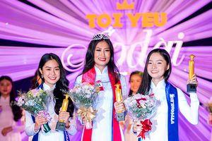 Đoàn Thiên Ân đăng quang gương mặt nữ sinh áo dài 2018