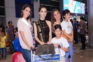 Hoa hậu quốc tế đổ bộ đến VN dự World Miss Tourism Ambassador