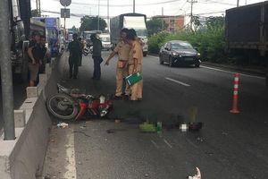 Chạy xe máy trong làn ô tô, 1 người chết thảm