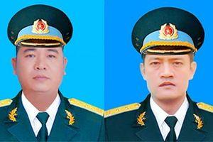 Cấp Bằng 'Tổ quốc ghi công' cho 2 phi công hy sinh trong vụ máy bay Su-22 rơi