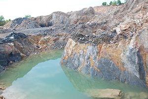 Báo động hoạt động khai thác tài nguyên khoáng sản làm phụ gia xi măng