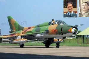 Tiễn đưa hai phi công Su-22 về đất mẹ