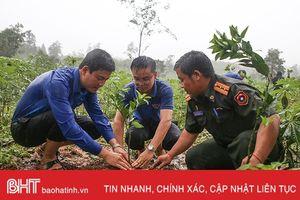 Tuổi trẻ Hà Tĩnh trao tặng 200 gốc cam, bưởi giống cho thanh niên tỉnh Bôlykhămxay
