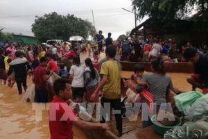 Vỡ đập thủy điện tại Lào: Lào tăng cường phòng chống dịch bệnh tại các trung tâm cứu hộ
