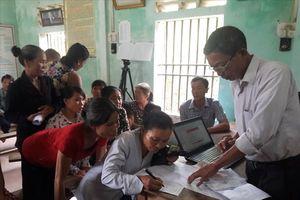 Hà Tĩnh: Cán bộ thôn trả lại những khoản lạm thu trong xây dựng nông thôn mới