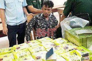 Hà Tĩnh: Bắt giữ 54 bánh heroin trong 7 tháng