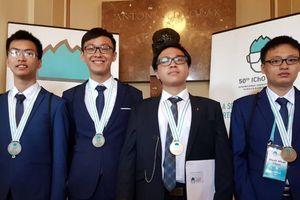 Việt Nam giành 4/4 huy chương Olympic Hóa học quốc tế