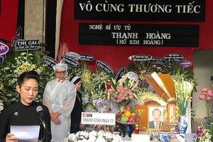 Nghệ sĩ nghẹn ngào tiễn biệt NSƯT Thanh Hoàng