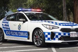 Kia Stinger GT về tay cảnh sát Úc