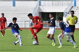 U16 Việt Nam chỉ thắng Campuchia 1-0 ngay trận mở màn giải Đông Nam Á
