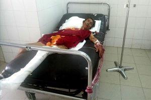 Người đàn ông nguy kịch, nằm viện không người chăm sau khi kẻ gây tai nạn bỏ trốn
