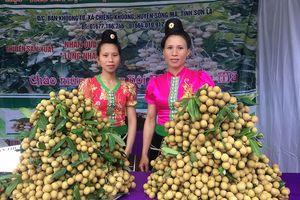 Sông Mã tưng bừng mở hội chuẩn bị bán 40.000 tấn nhãn