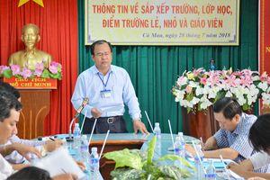 1.405 giáo viên tại Cà Mau sẽ bị chấm dứt hợp đồng