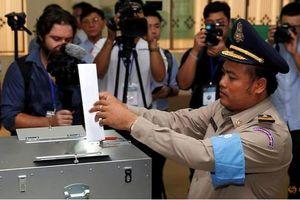 Việt Nam chúc mừng bầu cử Quốc hội Campuchia diễn ra thành công