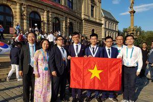 Việt Nam có thành tích cao tại Olympic Hóa học 2018