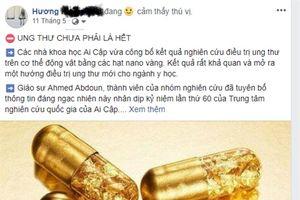 Nano vàng có phải 'thần dược' chữa ung thư?