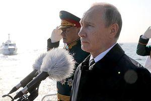 Tổng thống Putin đề cao sức mạnh của Hải quân Nga