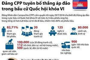 Campuchia: Đảng CPP tuyên bố thắng áp đảo