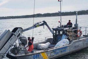 Thụy Điển: Tàu chở hàng trăm nghìn lít dầu bị tràn dầu ra biển