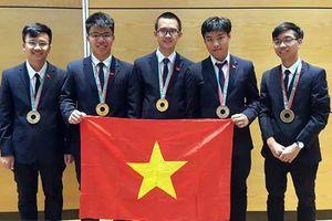 Việt Nam giành 3 HCV Olympic Vật lý và Hóa học