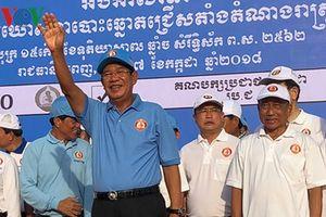 Đảng của Thủ tướng Hun Sen giành thắng lợi vang dội trong cuộc bầu cử Quốc Hội Campuchia