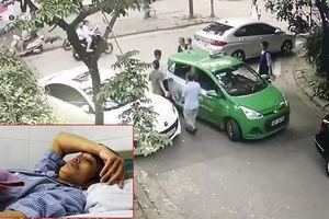 Khởi tố chủ xe Mercedes cầm gạch 'choảng' tài xế taxi Mai Linh gây thương tích nặng