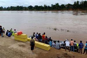 Lào công bố 1.254 người chết và mất tích do vỡ đập thủy điện tính đến ngày 29/7