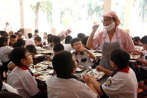Nam Định chuẩn hóa thực đơn bán trú tiểu học