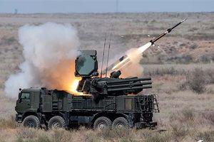 'Mãnh thú' Pantsir-S1 Nga bắn rụng UAV của phiến quân Hồi giáo