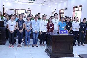 20 đối tượng gây rối trật tự công cộng tại Đồng Nai hầu tòa