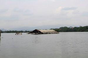 Hà Nội: Chương Mỹ, Quốc Oai nước vẫn ngập đến nóc nhà
