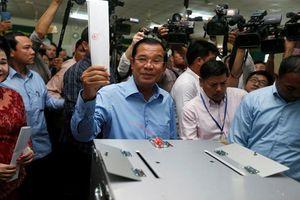 Đảng cầm quyền Campuchia tuyên bố chiến thắng áp đảo trong cuộc bầu cử Quốc hội