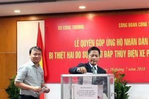 Gần 2 tỷ đồng ủng hộ nhân dân Lào sau sự cố vỡ đập thủy điện