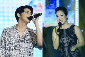 Mỹ Linh ngượng ngùng, Noo Phước Thịnh diễn `sung` trước hàng nghìn khán giả thủ đô