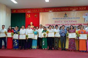 Quảng Bình: Tôn vinh người lao động và chủ tịch CĐCS giỏi