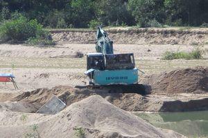 Vân Canh (Bình Định): Cần chấn chỉnh tình trạng khai thác cát và đất sét trái phép.