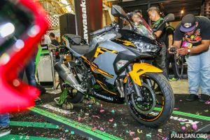 Kawasaki Ninja 250 2018 nâng cấp toàn diện đẹp mê người